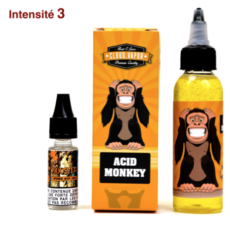 ACID MONKEY 60 ml - Shake & Vape de CLOUD VAPOR