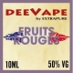 FRUITS ROUGES de Deevape