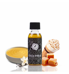 Concentré Steeper - vanille custard glace italienne et éclats de caramel - JIN AND JUICE - 60ML