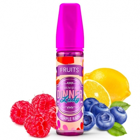 Purple Rain - myrtille framboise et citron - 30/70 - 50ml -  Dinner Lady