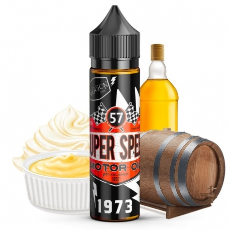 Super Speed Motor Oil - Vanille - Crème - Bourbon - 30/70 - 50ml - Religion Juice