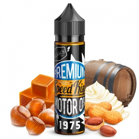 Speed King Motor Oil - Noisette - Crème - Cacahuète - Caramel - 30/70 - 50ml - Religion Juice