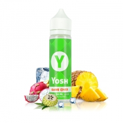 Yosh - Ananas - Fruits du Dragon - Corossol - Fresh - 50/50 - 50ml - E.Tasty