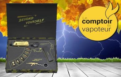 Cold Steel AK47 Limited Edition 24K Gold NP - Artery - le comptoir du vapoteur