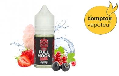 Concentré Dark Infinity - Fruits rouges - Barbe à papa - Frais - 30ml - Full Moon - le comptoir du vapoteur
