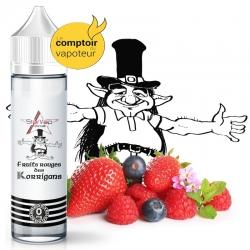 Le Fruit Rouges des Korrigans - Fruits rouges explosif - 50/50 - 50ml - 0mg - le comptoir du vapoteur