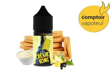 Concentré Crème Kong Custard - Crème - Vanille - Biscuit - 30ml - Joe's Juice - le comptoir du vapoteur