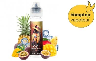 Secret Mango - Mangue - Ananas - Passion - Frais - 50/50 - 50ml - A&L - le comptoir du vapoteur